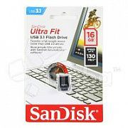USB-флеш (USB 3.1) 16GB SanDisk Ultra Fit Черный